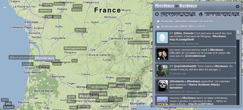 Trendsmap Bordeaux
